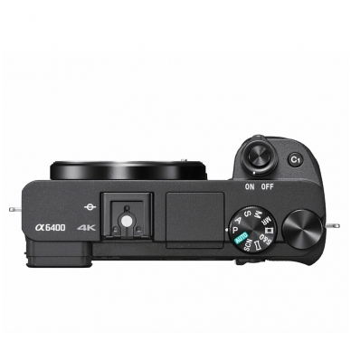 Fotoaparatas Sony α6400 16-50 Kit Black papildoma + 1 metų garantija 4