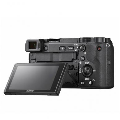 Fotoaparatas Sony α6400 16-50 Kit Black papildoma + 1 metų garantija 5