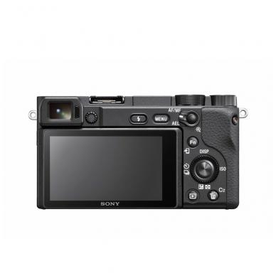 Fotoaparatas Sony α6400 16-50 Kit Black papildoma + 1 metų garantija 6