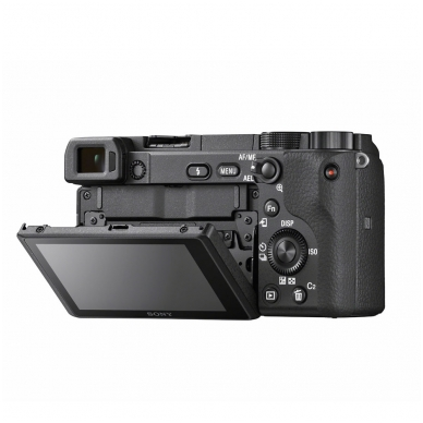 Fotoaparatas Sony α6400 16-50 Kit Black papildoma + 1 metų garantija 7