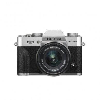 Fotoaparatas Fujifilm X-T30 Silver 9