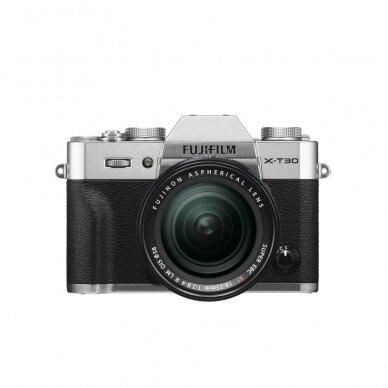 Fotoaparatas Fujifilm X-T30 Silver 10