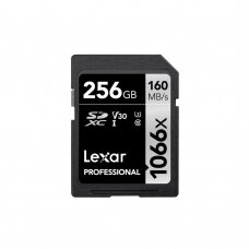 Atminties kortelė Lexar SDXC 1066x 256GB