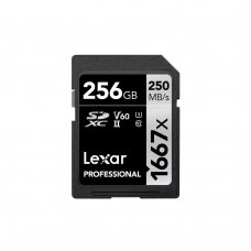Atminties kortelė Lexar SDXC 1667x 256GB