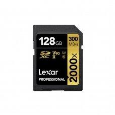Atminties kortelė Lexar SDXC 2000x 128GB