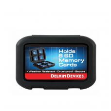 Atminties kortelių dėklas Delkin SD8