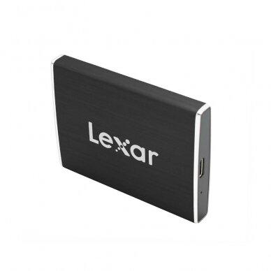 Kietasis diskas Lexar SSD SL100 Pro PORTABLE 500GB (USB Type-C) 3
