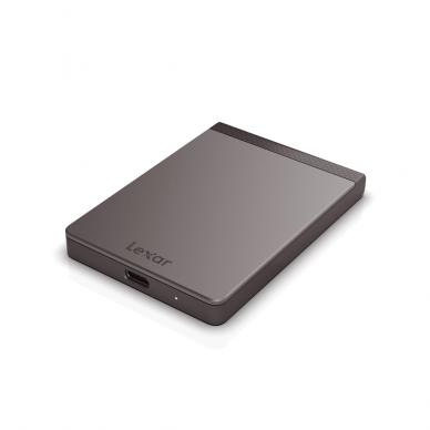Kietasis diskas Lexar SSD SL200 Pro PORTABLE 500GB (USB Type-C)