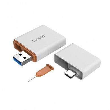 Atminties kortelių skaitytuvas Lexar nCARD NM card 2-in-1 USB 3.1 7