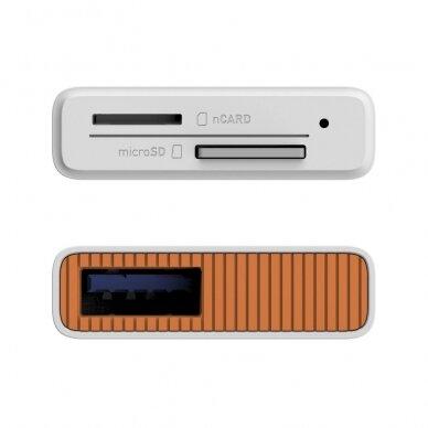 Atminties kortelių skaitytuvas Lexar nCARD NM card 2-in-1 USB 3.1 3
