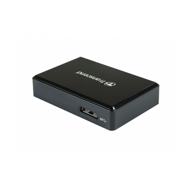 Atminties kortelių skaitytuvas Transcend RDC8 (USB-C 3.1)