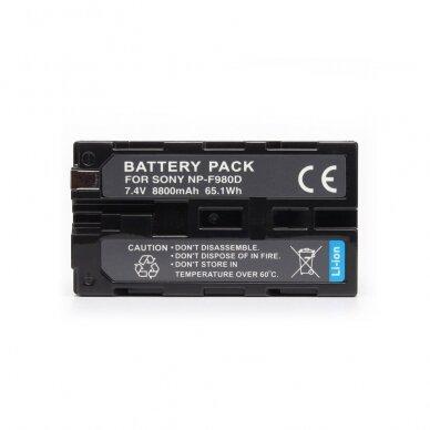 Baterija Extra Digital NP-F980D 8800mAh (Sony) 3