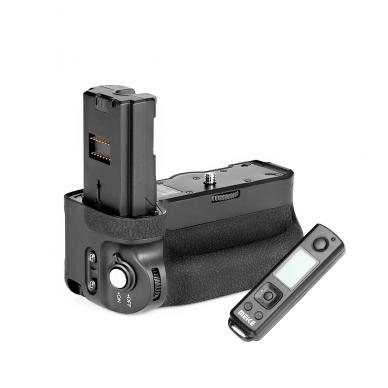 Baterijų laikiklis Meike Sony MK-A9 PRO su pulteliu