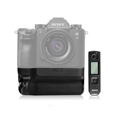 Baterijų laikiklis Meike Sony MK-A9 PRO su pulteliu 5