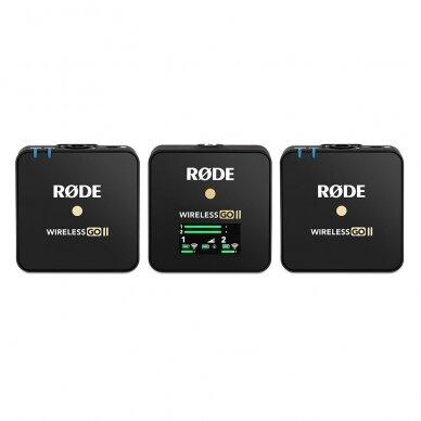 Belaidžių mikrofonų sistema Rode Wireless GO II 2