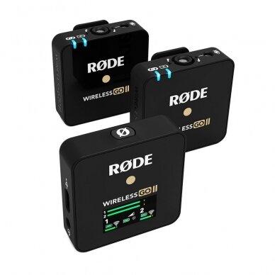 Belaidžių mikrofonų sistema Rode Wireless GO II 5