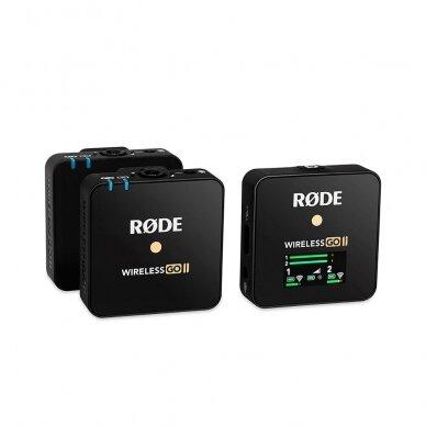 Belaidžių mikrofonų sistema Rode Wireless GO II