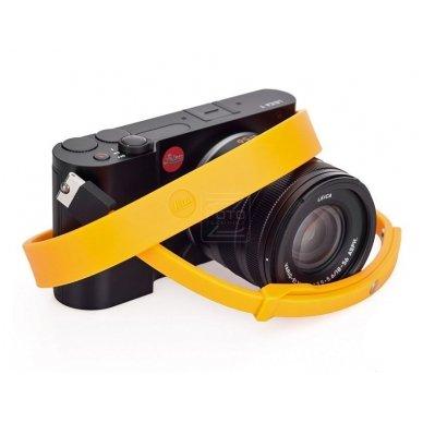 Dirželis fotoaparatui Leica T Silicon Melon-yellow 4