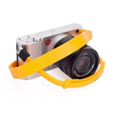 Dirželis fotoaparatui Leica T Silicon Melon-yellow 5