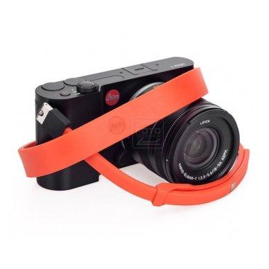 Dirželis fotoaparatui Leica T Silicon Orange-red 4