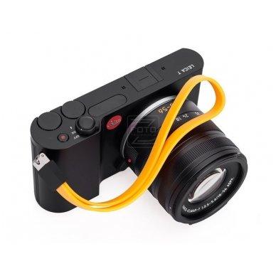 Dirželis fotoaparatui Leica T Silicon Melon-yellow 3
