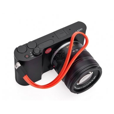 Dirželis fotoaparatui Leica T Silicon Orange-red 3