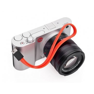 Dirželis fotoaparatui Leica T Silicon Orange-red 4
