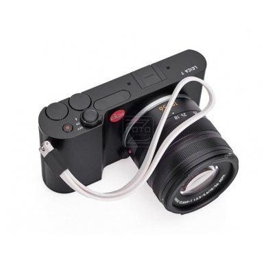Dirželis fotoaparatui Leica T Silicon White 3
