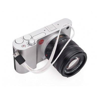 Dirželis fotoaparatui Leica T Silicon White 4