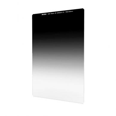 Filtras NISI Square Nano IR GND Medium 75X100mm GND8 0.9