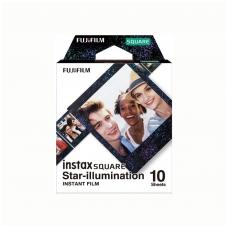 Fotoplokštelės Fujifilm Instax square star illumination 10vnt.