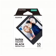 Fotoplokštelės Fujifilm Instax square black 10vnt.