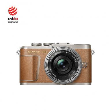 Fotoaparatas Olympus E-PL9 14-42 EZ Kit Brown