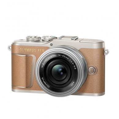 Fotoaparatas Olympus E-PL9 14-42 EZ Kit Brown 2