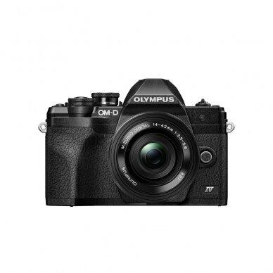 Fotoaparatas Olympus OM-D E-M10 Mark IV Black 2