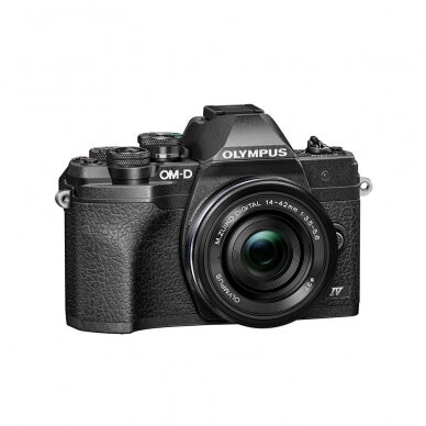 Fotoaparatas Olympus OM-D E-M10 Mark IV Black 4