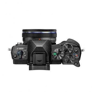 Fotoaparatas Olympus OM-D E-M10 Mark IV Black 5