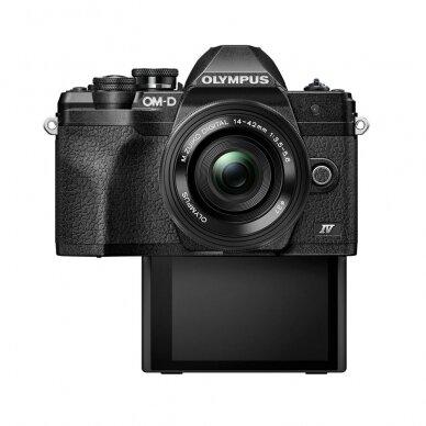 Fotoaparatas Olympus OM-D E-M10 Mark IV Black 8