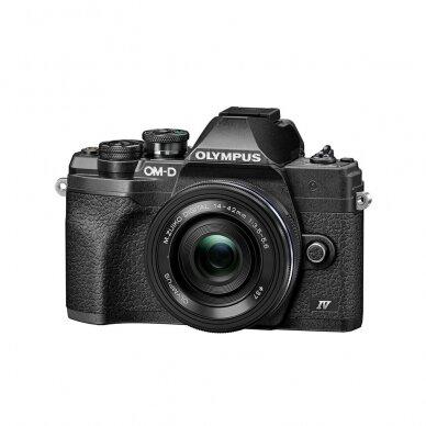 Fotoaparatas Olympus OM-D E-M10 Mark IV Black 3