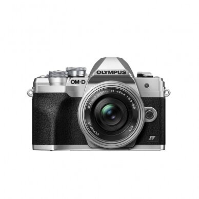 Fotoaparatas Olympus OM-D E-M10 Mark IV Silver 2