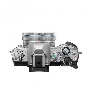 Fotoaparatas Olympus OM-D E-M10 Mark IV Silver 4