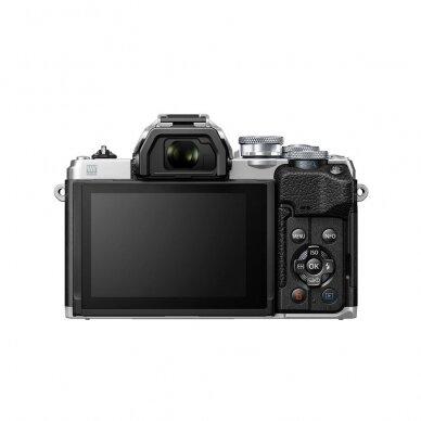 Fotoaparatas Olympus OM-D E-M10 Mark IV Silver 5