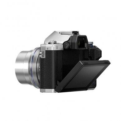 Fotoaparatas Olympus OM-D E-M10 Mark IV Silver 6