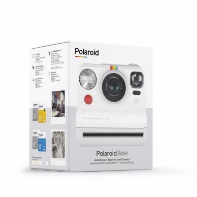Fotoaparatas POLAROID ORIGINALS POLAROID NOW WHITE 6