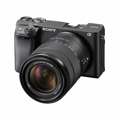 Fotoaparatas Sony α6400 18-135 Kit Black papildoma + 1 metų garantija 3
