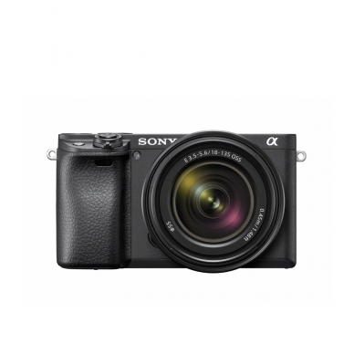 Fotoaparatas Sony α6400 18-135 Kit Black