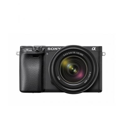 Fotoaparatas Sony α6400 18-135 Kit Black papildoma + 1 metų garantija