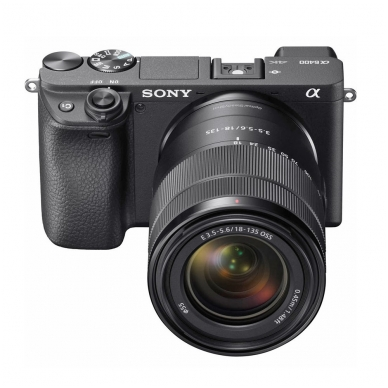 Fotoaparatas Sony α6400 18-135 Kit Black 2