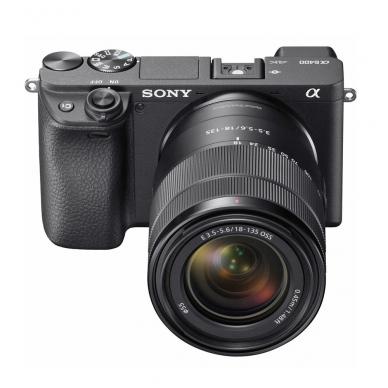 Fotoaparatas Sony α6400 18-135 Kit Black papildoma + 1 metų garantija 2