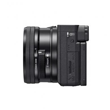 Fotoaparatas Sony α6400 16-50 Kit Black papildoma + 1 metų garantija 3